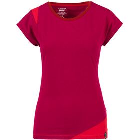 La Sportiva Chimney T-Shirt Femme, beet/garnet